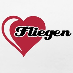 I love Fliegen T-Shirts