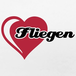 I love Fliegen T-Shirts - Frauen Premium T-Shirt