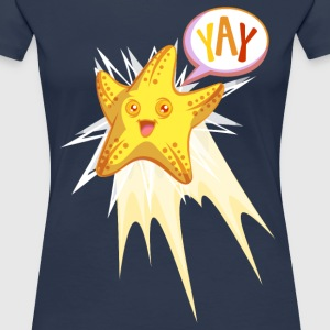 Yay Starfish T-Shirts - Frauen Premium T-Shirt