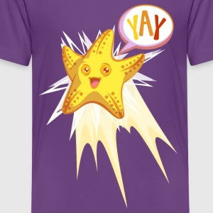 Yay Starfish Shirts - Teenage Premium T-Shirt