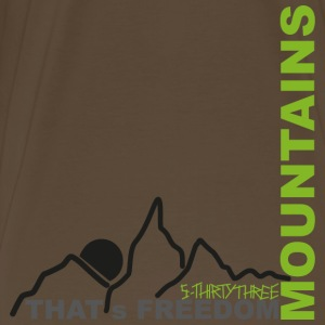 S33 Mountains T-Shirts - Männer Premium T-Shirt