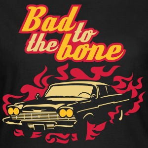 Sort Bad til benet T-shirts - Dame-T-shirt