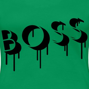 Boss Graffiti T-Shirts - Frauen Premium T-Shirt
