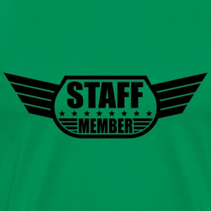Staff Member Design T-Shirts - Men's Premium T-Shirt