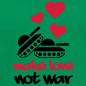 Make Love Not War Tanks Koszulki - Koszulka męska Premium