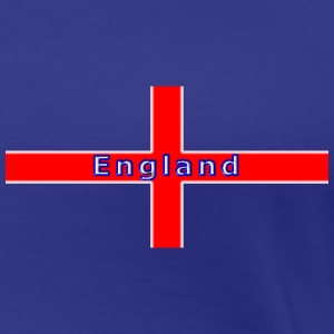 england st george flag white glow T-Shirts - Women's Premium T-Shirt