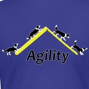 Agility 4x Border Collie T-Shirts - Women's Premium T-Shirt