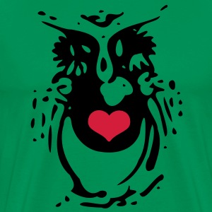 Owl Bird Men's Classic T-Shirt - Men's Premium T-Shirt