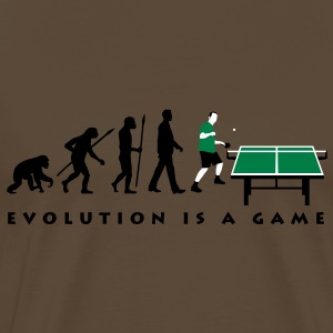 evolution_table_tennis_052012_c_3c T-Shirts - Männer Premium T-Shirt