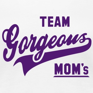 TEAM Gorgeous Moms Women T-Shirt AW - Frauen Premium T-Shirt