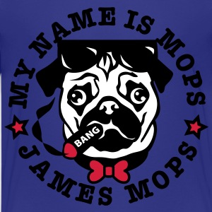 My Name is Mops - James Mops / (04) Bond Agent 007 - Teenager Premium T-Shirt
