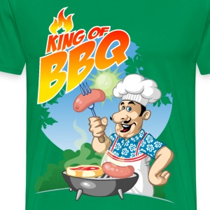 King of barbecue - T-shirt Premium Homme
