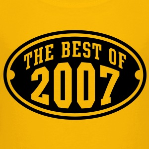 THE BEST OF 2007 - Birthday Anniversaire Enfants Tee Shirt BY - T-shirt Premium Enfant