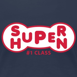 SUPER HUPEN 2C Fun T-Shirt RN - Frauen Premium T-Shirt