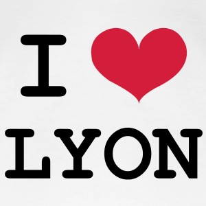 I Love Lyon ! T-Shirts - Frauen Premium T-Shirt
