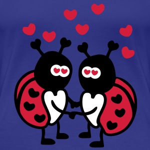 Ladybugs in Love T-shirt - Maglietta Premium da donna
