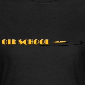 old school, oldschool, vinyl T-Shirts - Women's T-Shirt