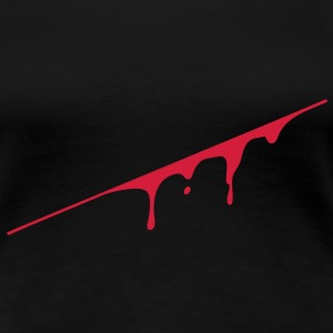 blood splatter T-shirts - Premium-T-shirt dam