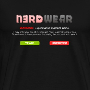 N3RD WEAR - Explicit - Männer Premium T-Shirt