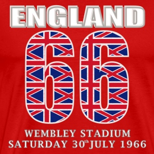 England 1966 wembley fun T-Shirts - Men's Premium T-Shirt
