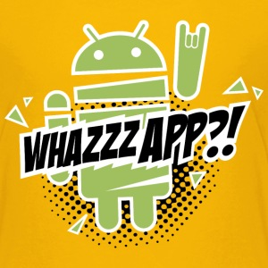 Whazzz App? - Teenager Premium T-shirt