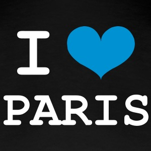 I Love Paris T-shirts - Vrouwen Premium T-shirt