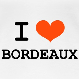 I Love Bordeaux T-shirts - Vrouwen Premium T-shirt