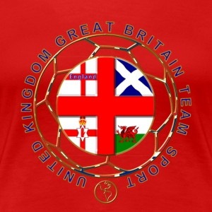 Great Britain team sport T-Shirts - Women's Premium T-Shirt