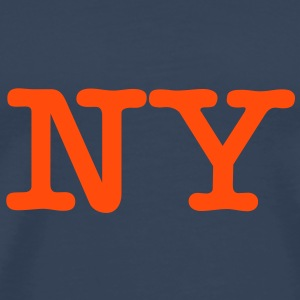 NY New York - T-shirt Premium Homme