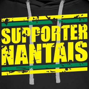 Supporters nantais Sweat-shirts - Sweat-shirt à capuche Premium pour hommes