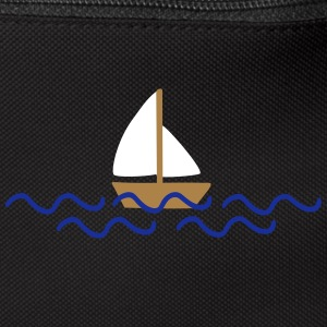 ship with waves Bags & backpacks - Bum bag