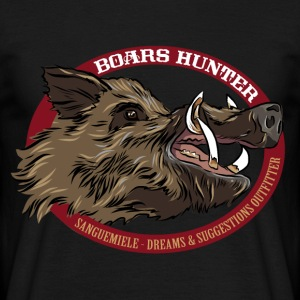 boars_hunter Tee shirts - T-shirt Homme