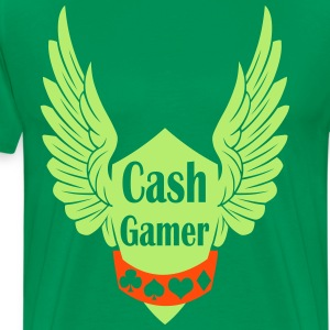 cash gamer T-Shirts - Men's Premium T-Shirt