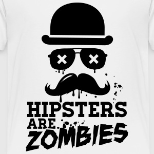 All hipsters are zombies zombie hipster undead  Shirts - Kids' Premium T-Shirt
