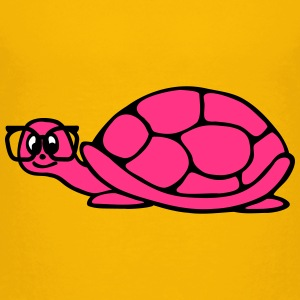 turtle with glasses Shirts - Kids' Premium T-Shirt