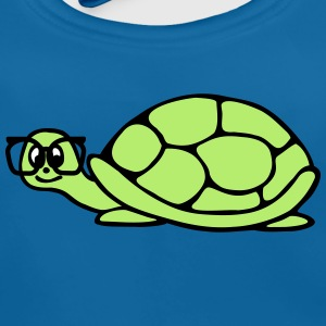turtle with glasses Accessories - Baby Organic Bib