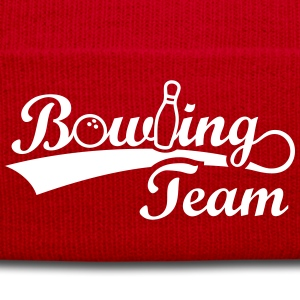 Bowling Team Pin Ball Sport Sportler Bowl Bowlen Caps & Mützen - Wintermütze