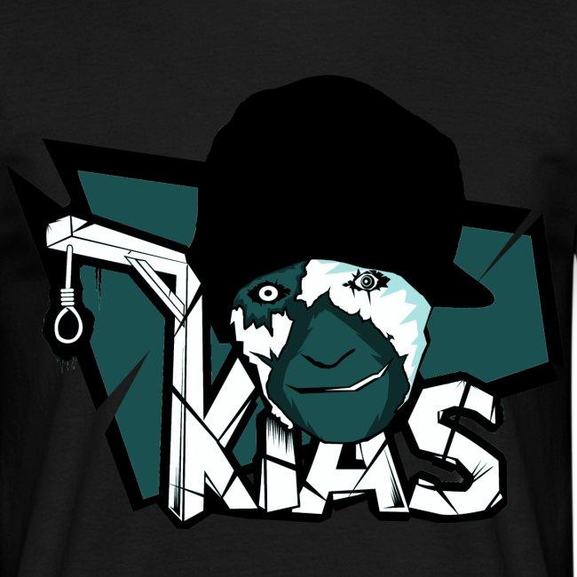 KIAS Fanshirt! - Logo Turquoise