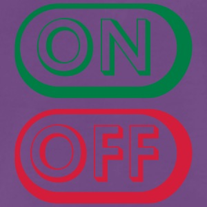 On Off Buttons T-shirts - Premium-T-shirt herr