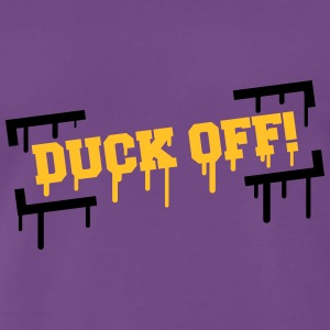 Duck Off Graffiti T-Shirts - Men's Premium T-Shirt