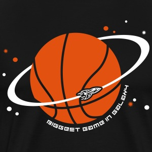 Planet Sport Basketball T-shirts - Mannen Premium T-shirt