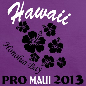 Hawaii Surf Contest Honolua Bay 2013 T-Shirts - Frauen Kontrast-T-Shirt