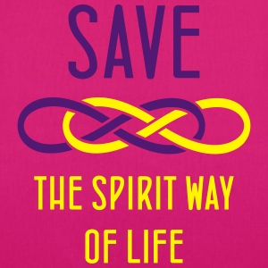 SAVE the spirit way of life - Bio-Stoffbeutel