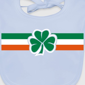 ireland clover flag Accessories - Baby Organic Bib