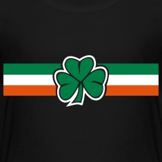 ireland clover flag Shirts