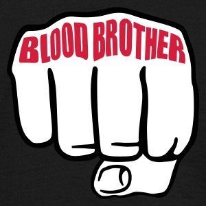 Schwarz Blood Brother © T-Shirts - Men's T-Shirt