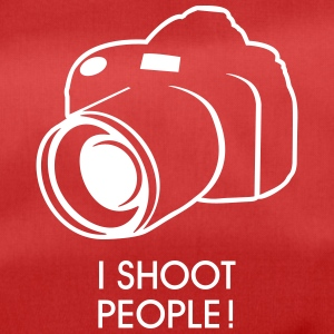 i shoot people Tassen & rugzakken - Sporttas