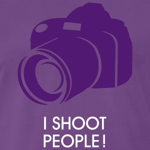 i shoot people T-shirts - Mannen Premium T-shirt
