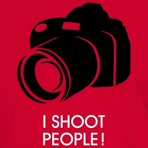 i shoot people T-shirts - Kontrast-T-shirt herr