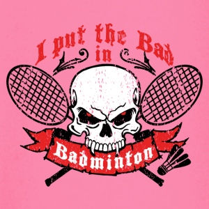 I put the bad in Badminton Barn & baby - Långärmad T-shirt baby